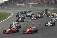 Alonso wins wet and wild European GP