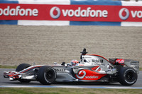 McLaren journey to Jerez to test new car