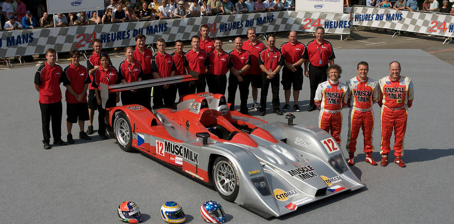 Cytosport, Pickett living the Le Mans dream