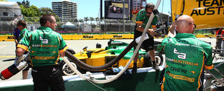 IndyCar Power hits fastest time in home event on Friday