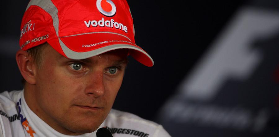 Heikki Kovalainen on high seas