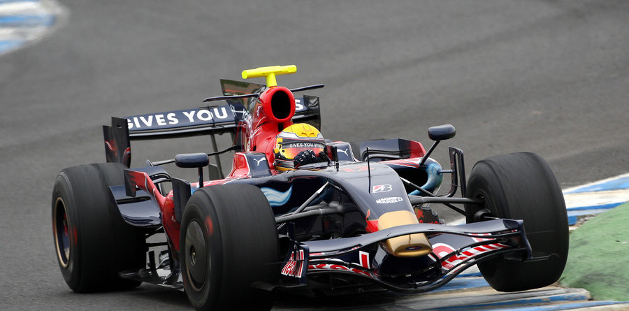 Toyota, Toro Rosso top Bahrain, Jerez test day