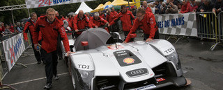 Le Mans Peugeot protests Audi ahead of 24H practice