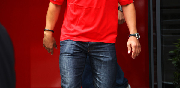 Schumacher back into Ferrari cockpit for Massa