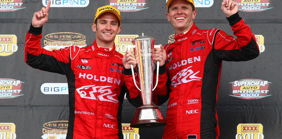 Holden Racing team sweeps Bathurst 1000