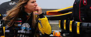 IndyCar Simona de Silvestro on track for Indy success