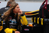 Simona de Silvestro on track for Indy success