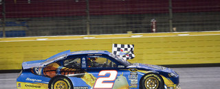 NASCAR Cup Busch doubles down at Charlotte, wins the 600