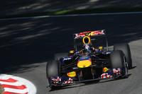 Vettel tops the timesheets in Monza practice