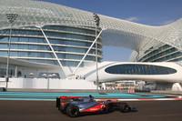 Hamilton kicks off Abu Dhabi with Friday fast time
