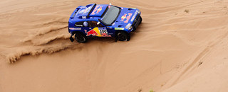 Dakar Sainz wins, but Al-Attiyah still in control