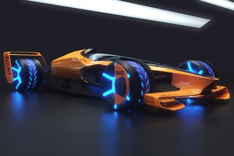 Spektakuläre Studie: So stellt sich McLaren die Formel 1 im Jahr 2050 vor