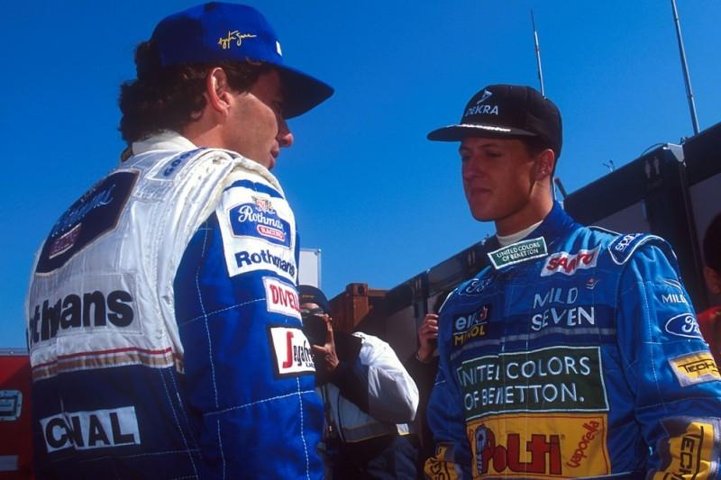 Eddie Irvine: Michael Schumacher besser als Ayrton Senna