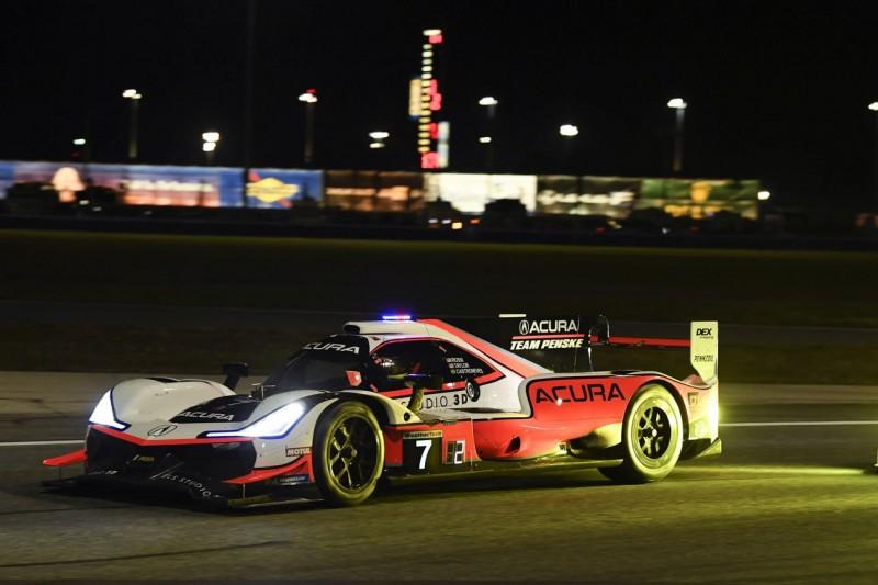 24h Daytona 2019: Penske führt bei Halbzeit - Drama um Mazda