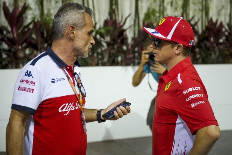 Nach Ferrari-Aus: Räikkönen ging sofort zu Sauber und löcherte Team mit Fragen