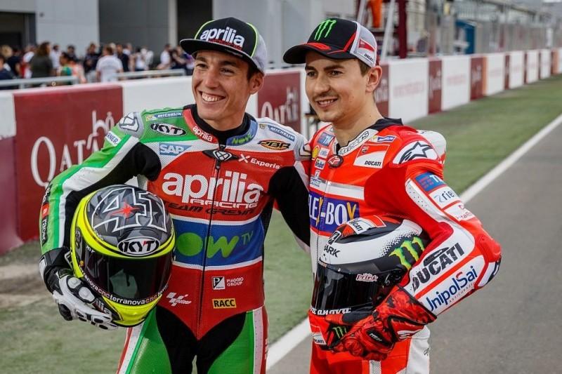 """Aleix Espargaro: Für Lorenzo ist es """"unmöglich"""", Marquez zu schlagen"""