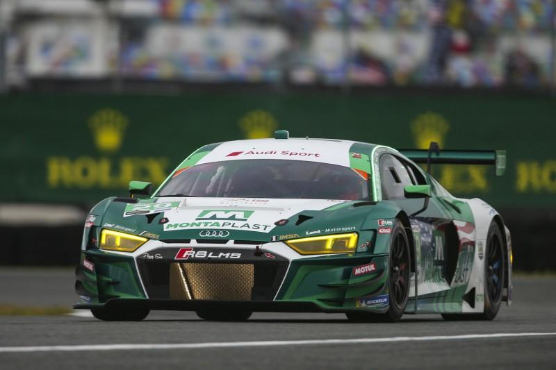 24h Daytona 2019: Land-Audi verliert Podestplatz nachträglich