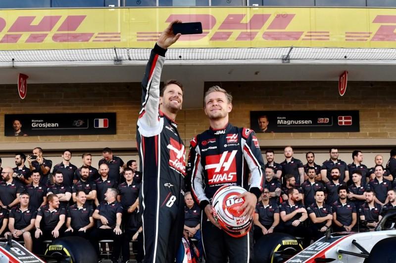 """Haas staunt über eigene Piloten: """"Irgendetwas geht in ihren Köpfen ab"""""""