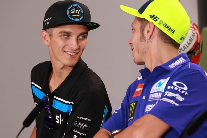 """Rossis Halbbruder Luca Marini: """"Werde ihm sagen, er soll noch bis 46 fahren"""""""