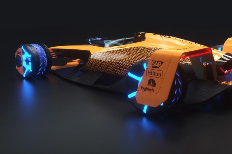 Video: Wie realistisch ist McLarens Studie für die Formel 1 2050?