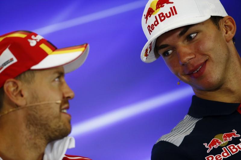 Das Vorbild von Pierre Gasly: Mach es wie Sebastian Vettel!