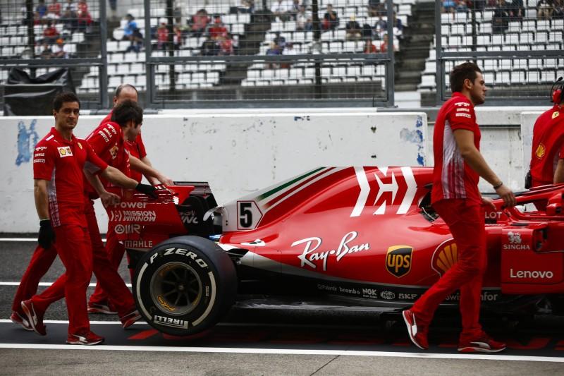 Ferrari feuert seinen Motor für die Formel-1-Saison 2019 erstmals an
