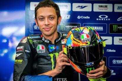 Valentino Rossi: Neues Helmdesign für die MotoGP-Wintertests 2019