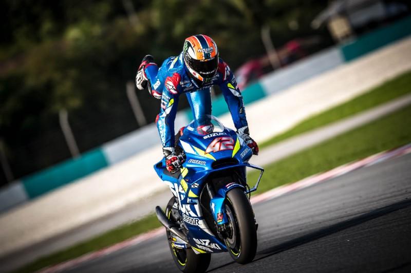 """Alex Rins fährt mit Suzuki erneut auf P2: """"Der Rhythmus war unglaublich"""""""