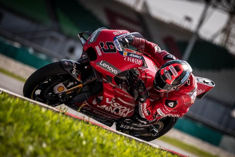 MotoGP-Test Sepang: Ducati dominiert, Danilo Petrucci mit Rekordrunde