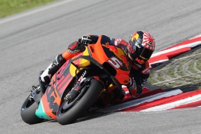 KTM beim Sepang-Test mit Fortschritten im Renntrimm