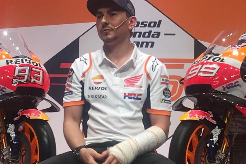"""Verletzter Honda-Neuzugang Jorge Lorenzo: """"Es wird nicht einfach"""""""