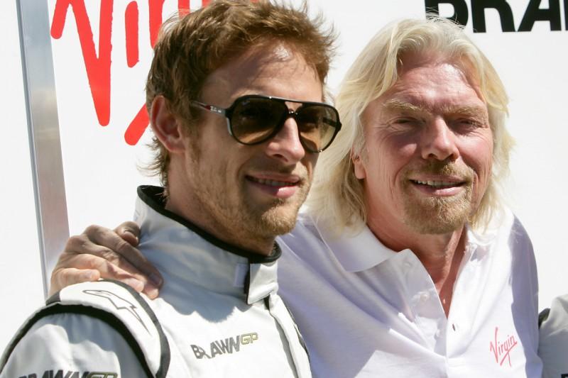 """Jenson Button: Seine späte """"Rache"""" an Sir Richard Branson ..."""