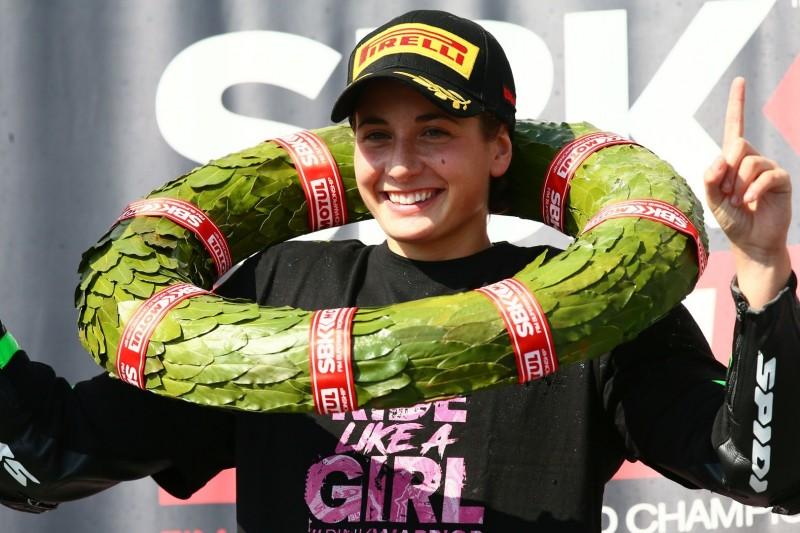 Ambitionierte Zielsetzung: Ana Carrasco träumt von MotoGP-Erfolgen