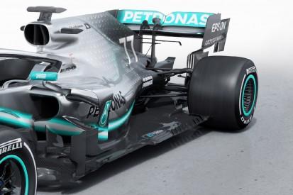 Neues Aero-Reglement: einschneidende Veränderungen am Mercedes W10