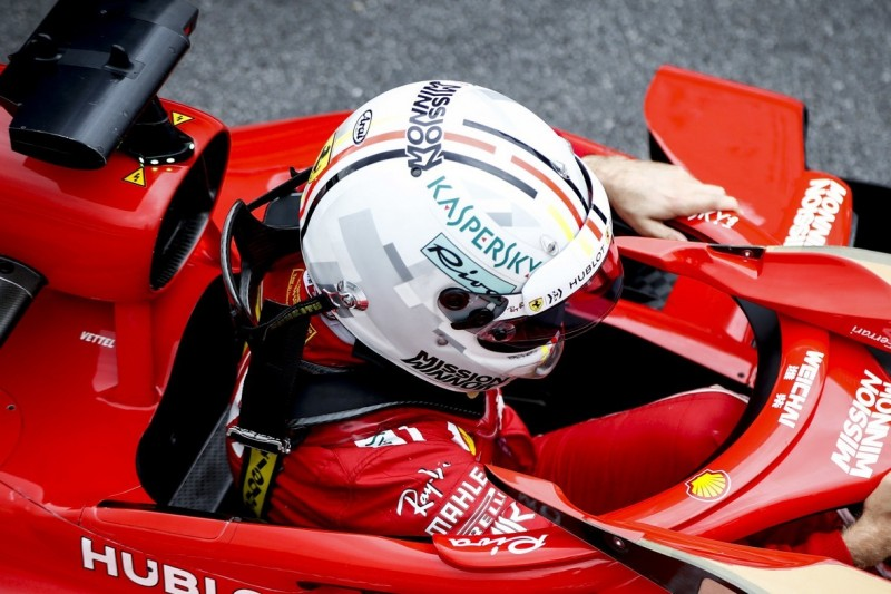Neue Vorschriften: Vettel und Co. aktuell noch ohne zugelassenen Helm
