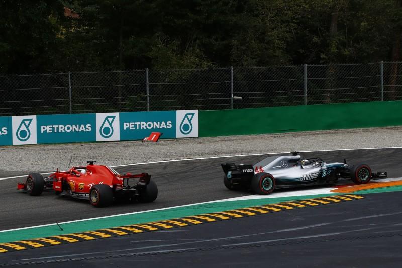 Im WM-Kampf 2018 gegen Hamilton unterlegen: Alonso verteidigt Vettel