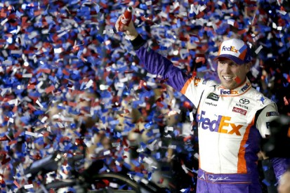 """""""Das ist für J.D."""": Emotionaler Daytona-Sieg für Denny Hamlin und Joe Gibbs"""