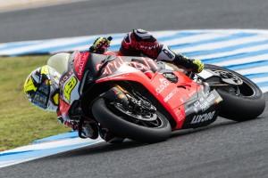 Ducati: Alvaro Bautista glänzt, Chaz Davies kämpft mit dem neuen V4-Bike