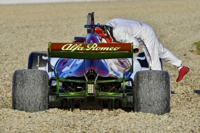 """Erst Dreher, dann """"großer Schritt"""": Räikkönen lobt neuen Alfa Romeo"""