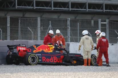 """Red Bull: Testunfall von Pierre Gasly ist """"keine Katastrophe"""""""