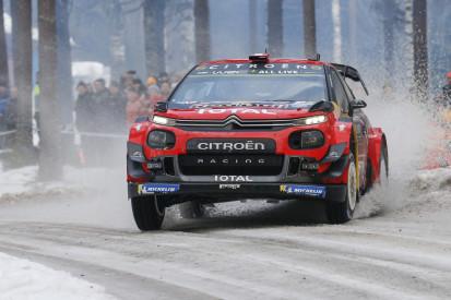"Trotz Schweden-Crash: Citroen C3 laut Ogier ""nicht so schlecht"""