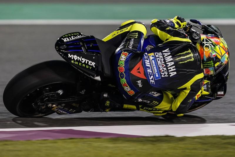 """""""Wir arbeiten gut"""": Rossi und Vinales nach starkem Testbeginn in Katar happy"""
