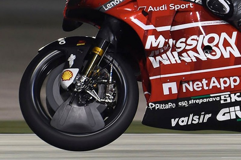 Ducati mit innovativen Aerodynamik-Ideen: Neue Elemente bei den Reifen