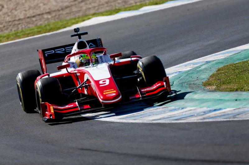 Formel-2-Test Jerez: Mick Schumacher fehlen 0,146 Sekunden auf die Bestzeit