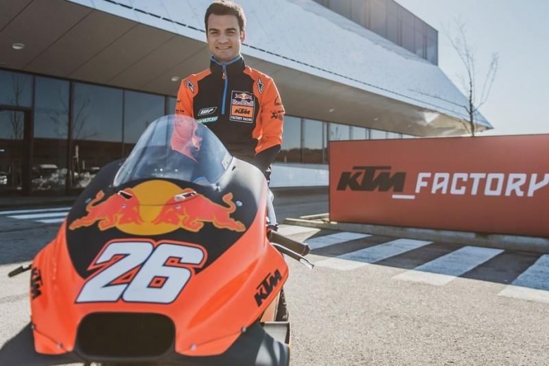 """Dani Pedrosa besucht erstmals KTM: """"Wir haben einen großen Plan mit ihm"""""""