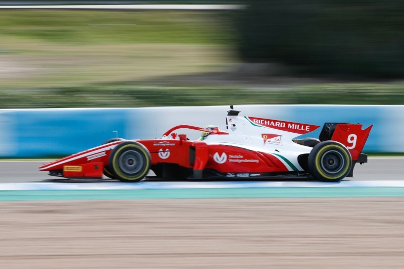 Formel-2-Test Jerez 2019: Mick Schumacher fährt absolute Bestzeit