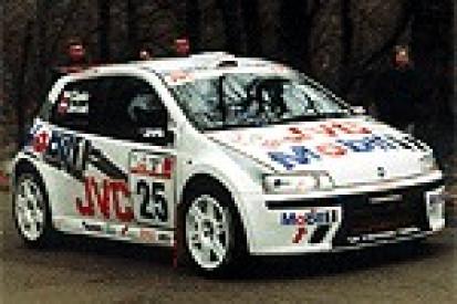 Jurczak testował Punto S1600 - 2003