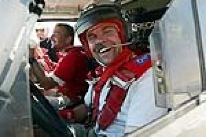 Przed startem Italian Baja 2003.