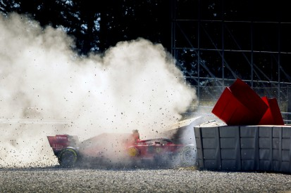 Vettel-Testunfall: War es wirklich ein Fremdkörper?