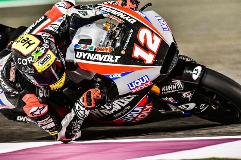 Tom Lüthi Zweitschnellster beim Moto2-Test in Katar: